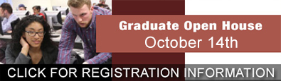 Graduate Studies Open House October 8th