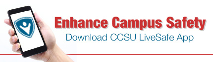 Enhance Campus Safety - Download CCSU LiveSafe App