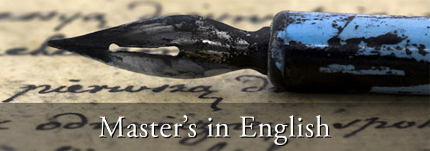 Master's in English Literature